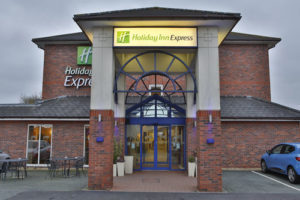 Holiday Inn Express near to Curborough Sprint Course