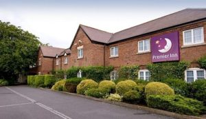 Premier Inn near to Curborough Sprint Course